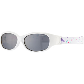 Alpina Sports Flexxy Brille Kinder white-dots